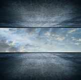 Sky room. square version Royalty Free Stock Images