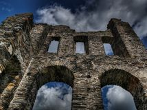 Sky, Ruins, Landmark, Building Royalty Free Stock Photos