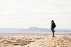 Sky, Sand, Vacation, Desert Stock Images