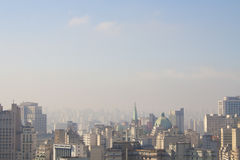 Sky of Sao Paulo Royalty Free Stock Image