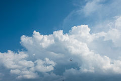 Sky scape. The beautiful sky scape in Thailand Royalty Free Stock Photography