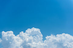 Sky scape. The beautiful sky scape in Thailand Stock Photography