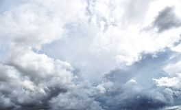 Rain Cloud before strom royalty free stock image