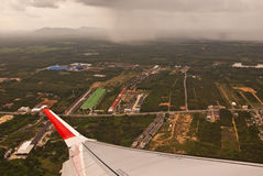 Sky scene in Hatyai Stock Photo