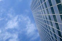 """Sky"" Scraper. A skyscraper shoots up into the sky Stock Photo"