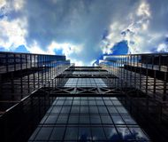 Sky Scraper. Photo of modern skyscraper Stock Photos