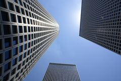 Sky-scrapers Stock Photography