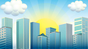 Free Sky Scrapers In The City Royalty Free Stock Photo - 66390205