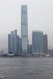 Sky scrapers in Kowloon, Hong Kong Stock Image
