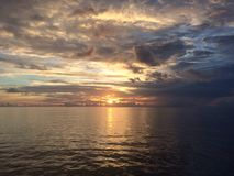 Sky&Sea Στοκ φωτογραφία με δικαίωμα ελεύθερης χρήσης