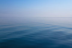 Sky and Sea. A simple shot of a blue ocean and sky Stock Photo