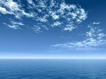 Sky_Sea ilustração stock