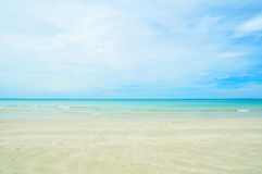 Sky and sea. From Thailand Royalty Free Stock Photo