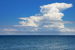Sky and sea Stock Photography