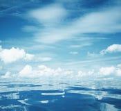 Sky and sea Royalty Free Stock Photos