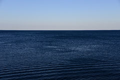 Sky and sea. Royalty Free Stock Images