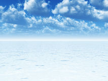 Sky and sea Royalty Free Stock Images