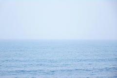 Sky And Sea. Blue Sky And Blue Sea Royalty Free Stock Photo