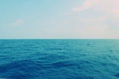 Sky and sea Royalty Free Stock Photo