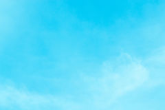 Sky sea bright afternoon. Royalty Free Stock Photo