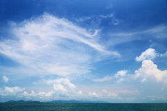 Sky and sea Royalty Free Stock Image