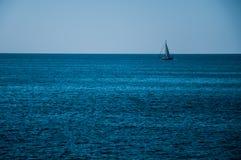 Sky and sea. Infinity blue Stock Photo