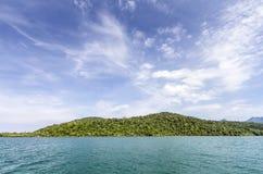 Sky, sea, Koh Chang, Thailand. Koh Chang Thailand travel sea royalty free stock photos