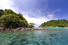 Sky, sea, Koh Chang, Thailand. Royalty Free Stock Images