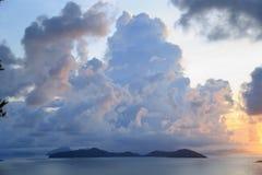 Sky, sea, ocean, Koh Samui, Thailand Royalty Free Stock Images