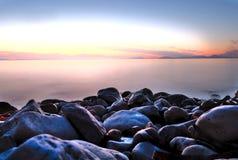 Sky, Sea, Shore, Rock royalty free stock photos