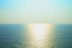 Sky sea sun Stock Photography