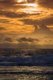Sky and sea in sunset, Sri Lanka Royalty Free Stock Image