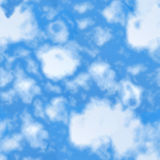Sky seamless pattern. Stock Image