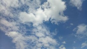 Sky. Blue and clouds view stock photography