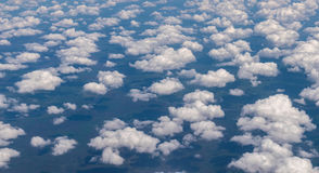 Sky with small clouds. Royalty Free Stock Photo