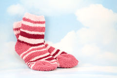 Sky Socks Royalty Free Stock Images