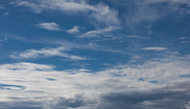 Sky with soft clouds. Sky background with soft clouds Royalty Free Stock Images