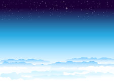 Sky_and_space Immagini Stock