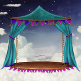 Sky stage Royalty Free Stock Photo