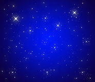 Sky with stars Royalty Free Stock Photography