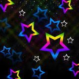 Sky Stars Background Means Twinkling In Space Royalty Free Stock Image