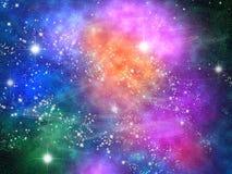 Sky and stars stock photos