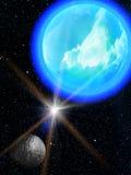 Sky  stars  planets Stock Image