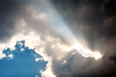 Sky after storm. Royalty Free Stock Photos