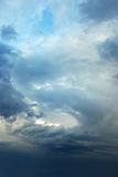 Sky after a storm. Making a background Stock Images