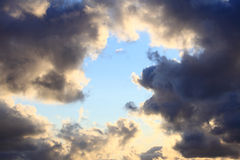 Sky, storm, tempest, sky clouded Royalty Free Stock Photo