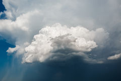Sky with Stormy Clouds Epic Background Royalty Free Stock Photo