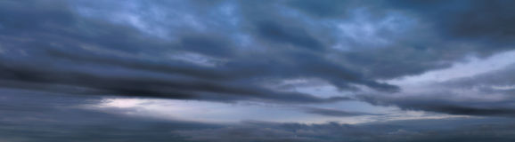 Sky Stormy Clouds Royalty Free Stock Photography