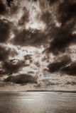 Sky and stormy clouds Royalty Free Stock Photos