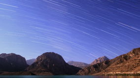 Sky with stripes. Panorama. Tajikistan, Iskander- stock footage